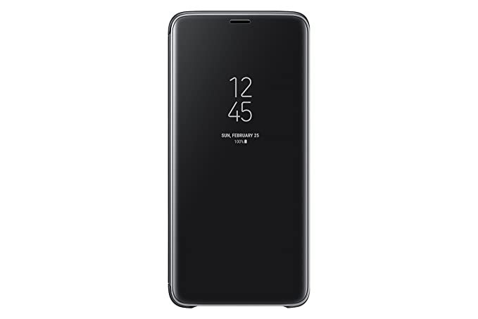 the latest 38c72 09186 Samsung Galaxy S9+ Clear View Standing Cover, Black (EF-ZG965CBEGCA)  [Canadian Version]