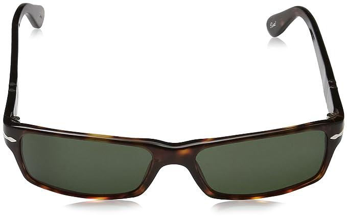 63003434919dfa Persol 0Po2747S 24 31 57 Montures de lunettes Mixte Adulte, Marron  (Havana Crystal Green),  Amazon.fr  Vêtements et accessoires