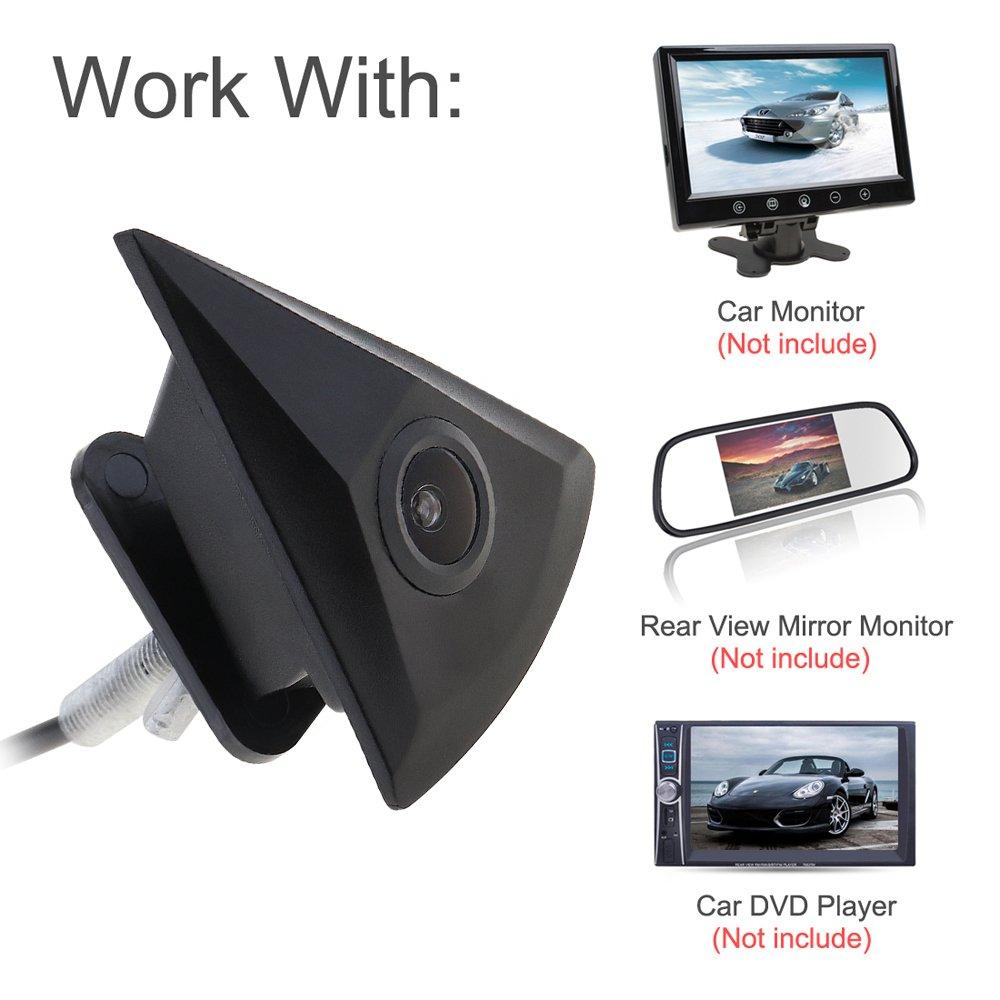 Avant de voiture View Camera Night Vision Large de 170/degr/és 420/TVL HD