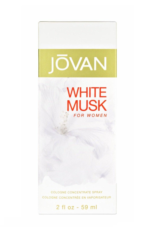 Jovan White MUSK Eau de Cologne spray per donne–59ml Coty 32256146000