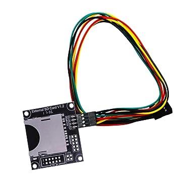 MagiDeal módulo Tarjeta Externo SD de Impresora Arduino ...
