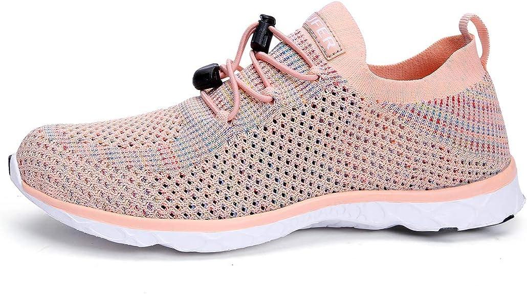 Amazon.com: Zapatillas de senderismo para mujer de secado ...