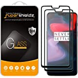 (2 Pack) Supershieldz for OnePlus 6 Tempered Glass Screen Protector, (Full Screen Coverage) 0.28mm, Anti Scratch, Bubble Free