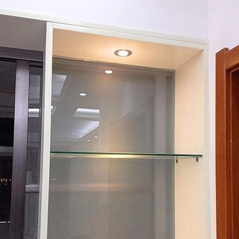 Lionze Inicio Iluminación interior Panel de techo Luz de aluminio Redondo Proyector empotrado Comercial Accesorio plano Ahorro de energía Protección del medio ambiente Dormitorio Hogar Sala de estar I: Amazon.es: Hogar