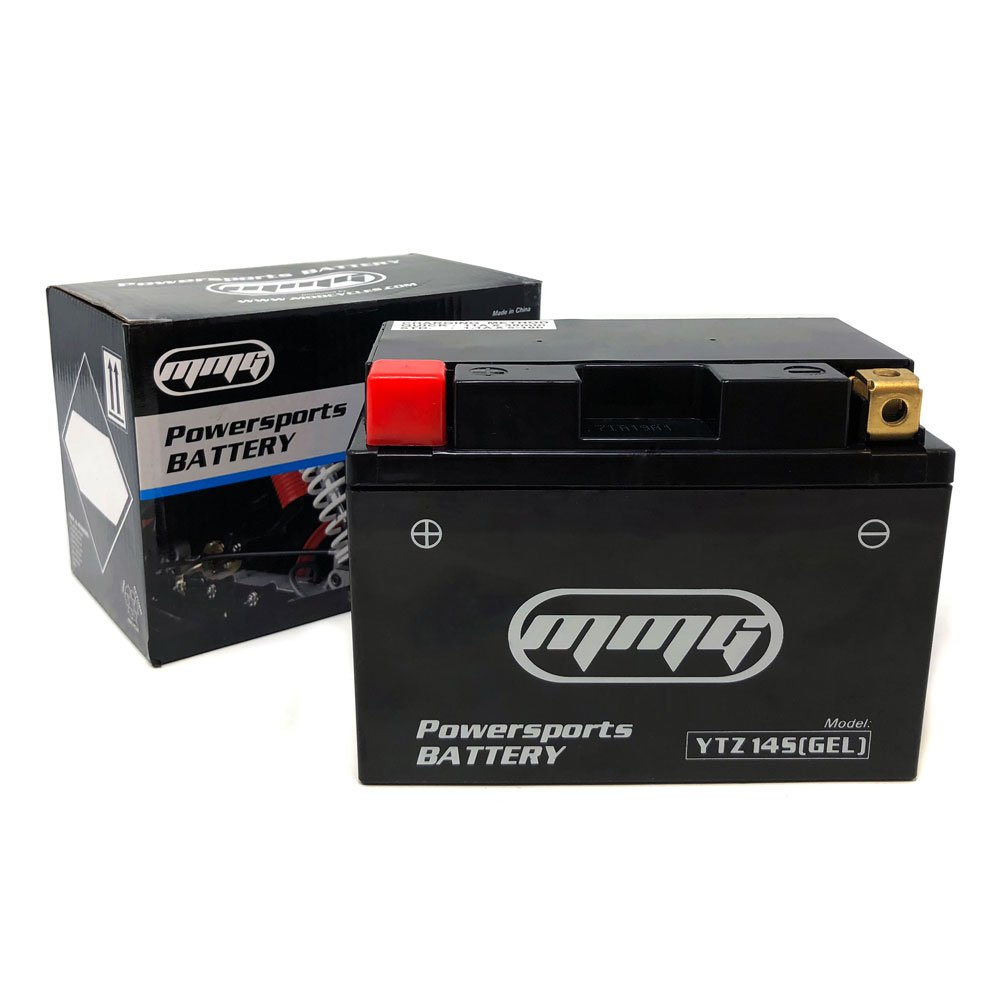 MMG YTZ14S Gel Cell 12v Powersports Battery for Motorcycles Scooters ATV UTV