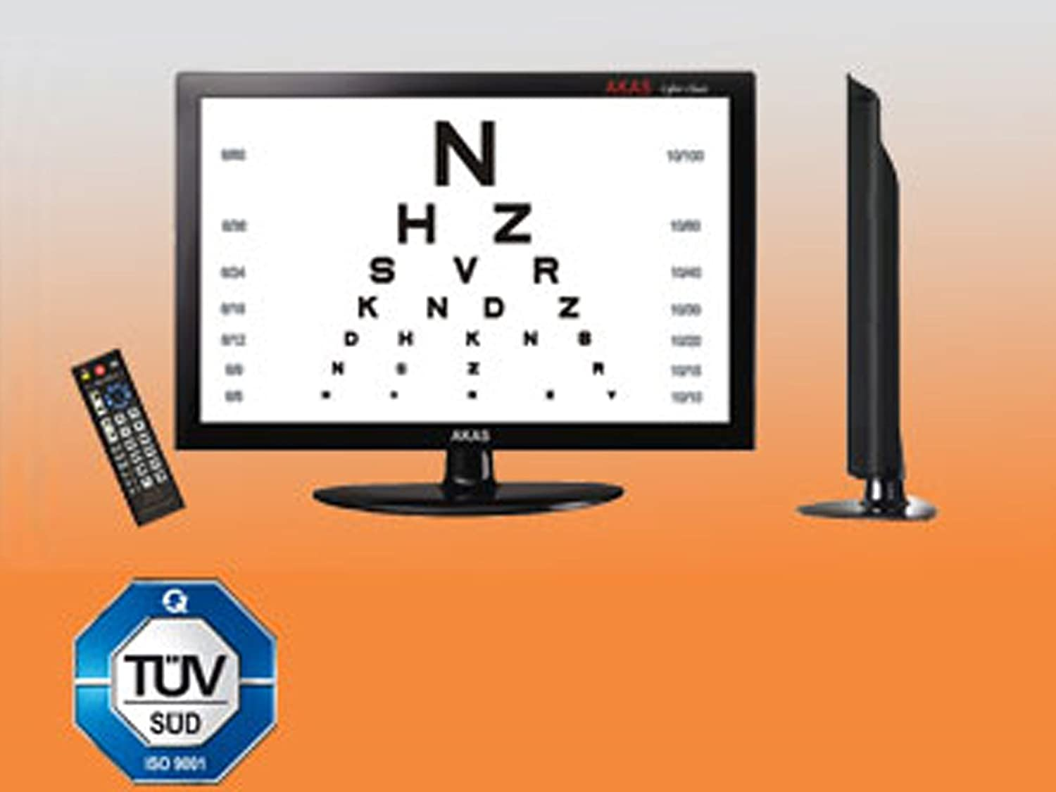 Buy snellen led visual acuity chart 185 online at low prices in buy snellen led visual acuity chart 185 online at low prices in india amazon nvjuhfo Gallery