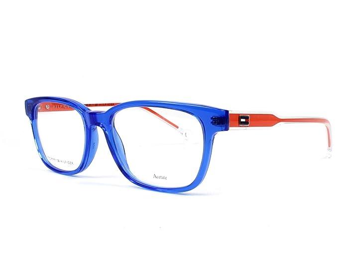453dfb7f57969 Tommy Hilfiger TH 1427 BLUCRYORG (Y5J) - Monturas de gafas  Amazon.es  Ropa  y accesorios