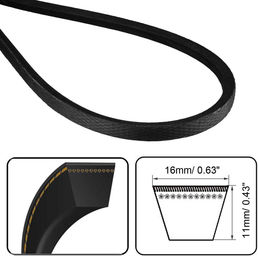 uxcell B-2794//B110 Drive V-Belt Inner Girth 110-inch Industrial Power Rubber Transmission Belt