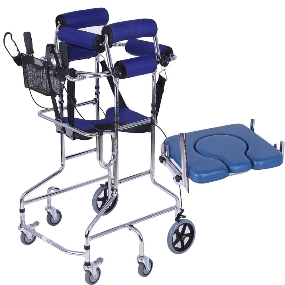 QETU Caminante para Personas discapacitadas de 6 Ruedas, Andador ...