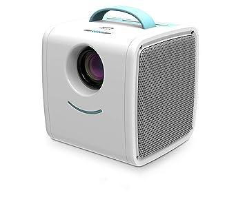 Mini proyector,proyector portátil de 70 lúmenes, niños Educación ...