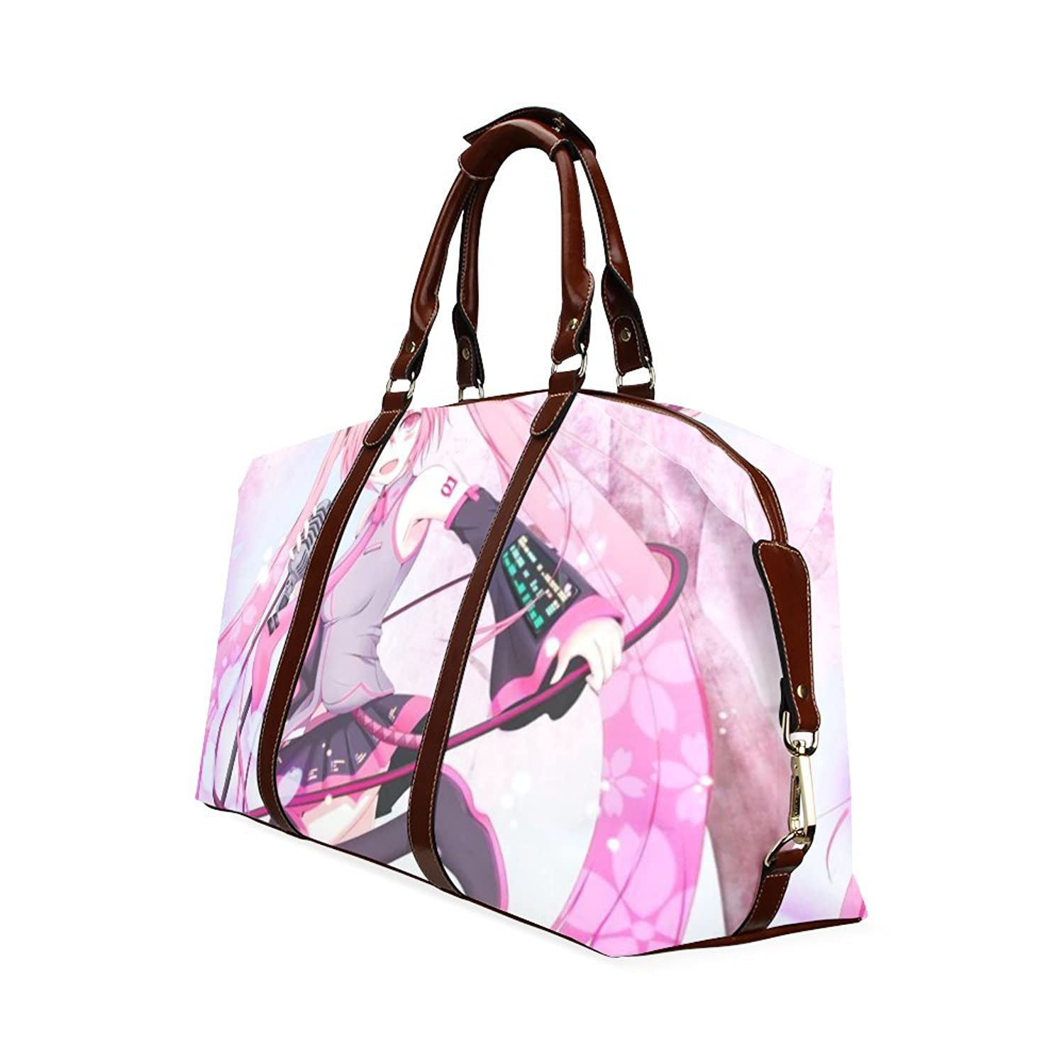 Anime Girls Custom Waterproof Fabric Two-sided Printing Flight Bag