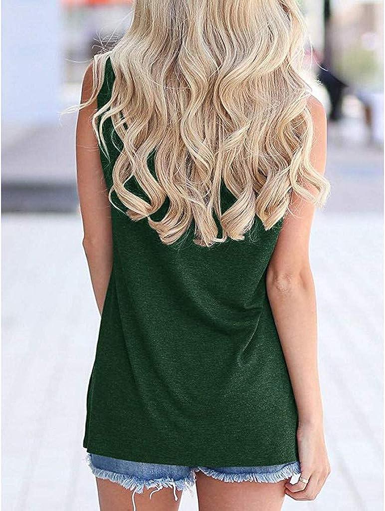 HAALIFE◕‿Women Good Vibes k Blouse Round Neck Sleeveless and Long Sleeve Rainbow Casual Ladies Waistcoat k Tops for Women