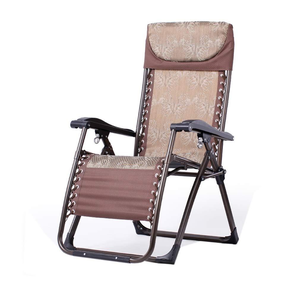 リクライニングチェア折りたたみ式ランチブレイクシエスタチェアオフィスレイジーチェアホームビーチチェア高齢者用安楽椅子,4 B07S9BXJVM 4