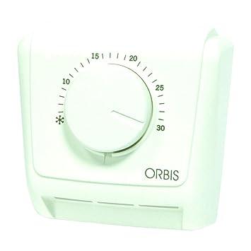 Orbis Clima - ML 230 V analógico de termostato, OB320422: Amazon.es: Bricolaje y herramientas