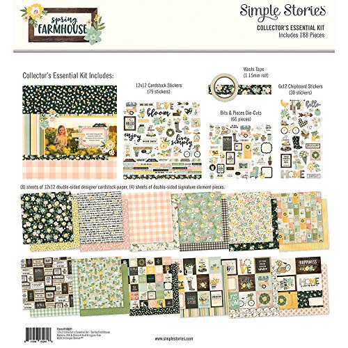 Simple Stories Spring Farmhouse Collector's Essential Kit