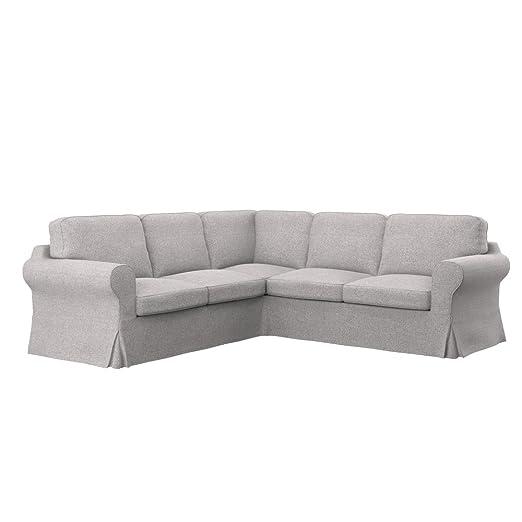 Soferia - IKEA EKTORP Funda para sofá Esquina 2+2, Naturel ...