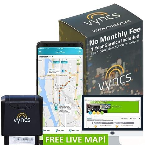 Rastreador de GPS Vyncs Sin Costo mensual OBDII, Rastreador ...
