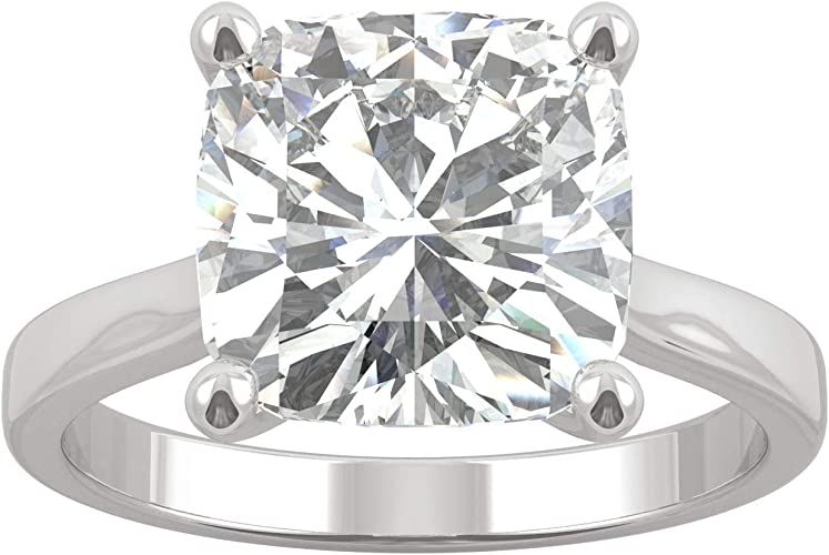 3.30Ct White Round Halo Engagement Ring 14K White Gold Plated with CZ
