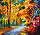 Red Fall is a Limited Edition print from an edition of 400. The artwork is a hand-embellished, signed and numbered Giclee on Unstretched Canvas by Leonid Afremov. This wonderful artwork is one of Afremov's most popular Fall images. The warm colors of...