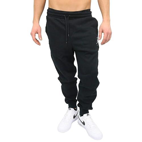 best website faa1f eb7cd Jordan Nike Jumpman - Pantalones de chándal para Hombre, Negro/Blanco, XXXX-