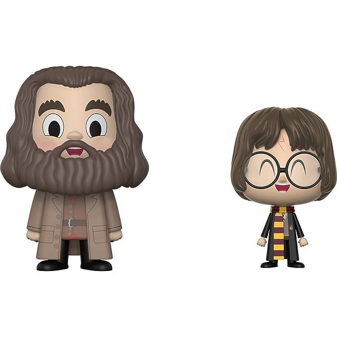 Amazon.com: Funko Rubeus Hagrid & Harry Potter Vynl. x Harry Potter Vinyl Figure Set + 1 Official Harry Potter Trading Card Bundle: Toys & Games