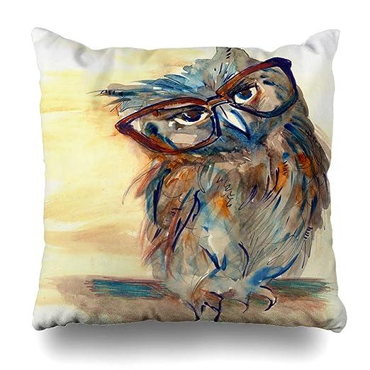 Ahawoso funda de almohada con diseño azteca de ciervo ...