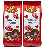 jelly belly petite sour hearts - Valentine Jelly Belly Candy 6.2 oz Petite Sour Hearts Gummi's (2 packages)