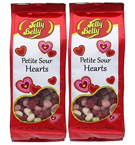 y Candy 6.2 oz Petite Sour Hearts Gummi's (2 packages) ()
