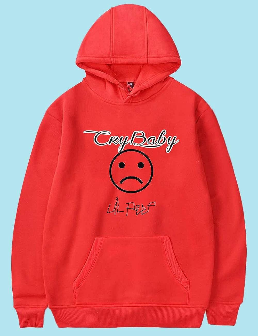 Lil Peep Hoodie Damen Unisex Herren M/änner Hellboy Cry Baby 3D Druck Pullover Teenager M/ädchen Lil Peep Hoodie Brief Drucken Sweatshirt Kinder Pulli Kapuzenpullover Shirt Merch