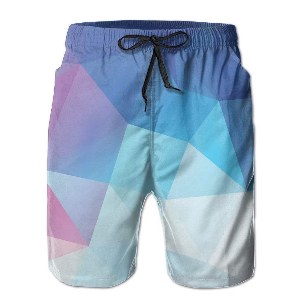 WZnWei Fantastic Colorful Casual Mens Shorts Beach Swim Trunk Summer