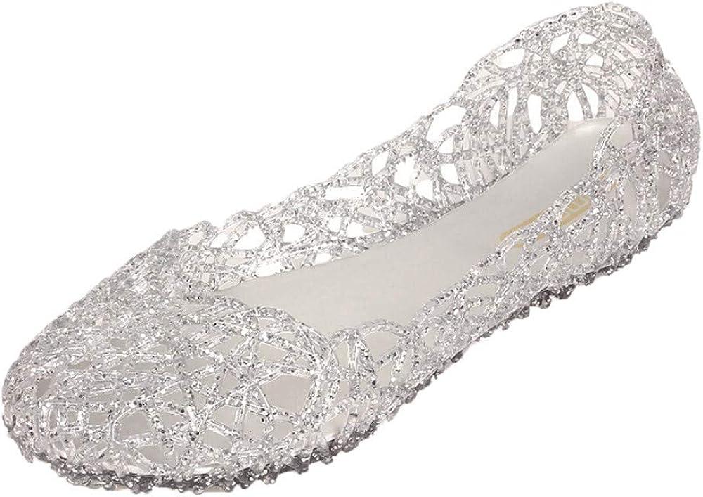 Alaso Ballerine Femme Chaussures de Ville Plates Classique Bout Rond Chaussures de Travail Mariage daffaires d/écontract/ée