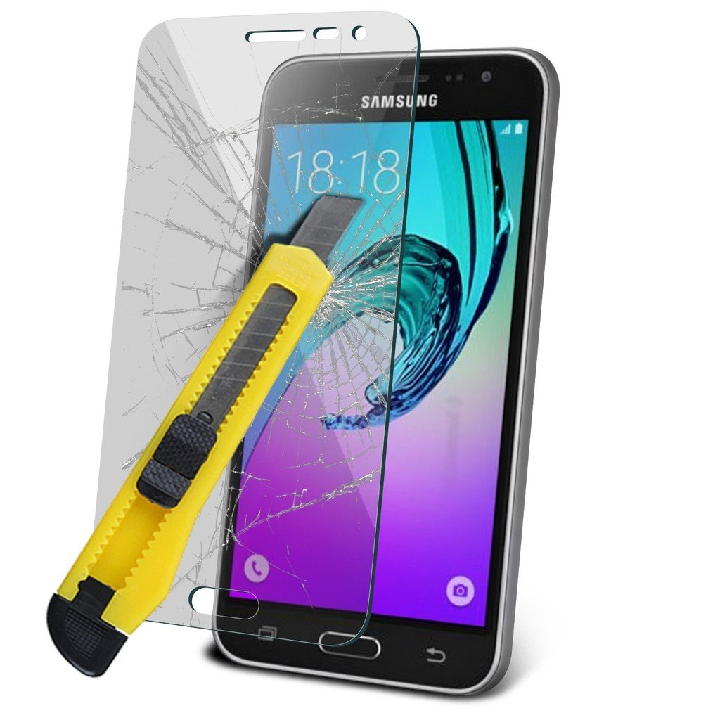 Samsung Galaxy J3 2016 Tempered Glass Screen Protector Case For J320 Clear Gratis Ultrathin Soft Electronics