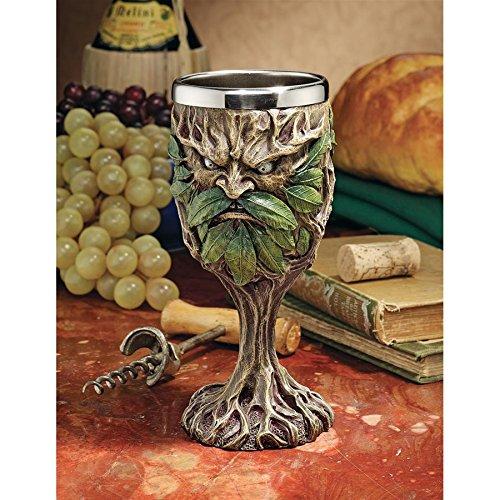 FidgetGear Design Toscano Forest Spirits Greenman Goblet Collection: Grendal The Green (Greenman Goblet)