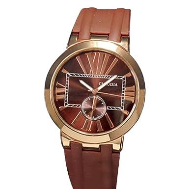 3bfa3e38ee Plus Nao(プラスナオ) 腕時計 ウォッチ 男性用 メンズ アナログ ラバーバンド シャイニーフェイス 日常