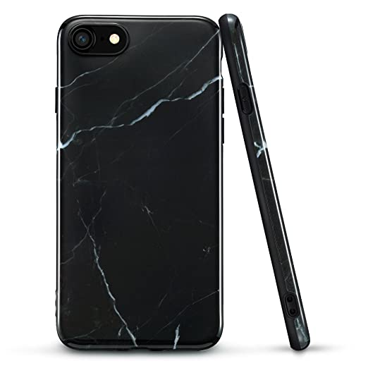 2 opinioni per iphone 7 Cover, ESR Custodia di Marmo Disegno in TPU [Anti Graffi][Ultra Slim]