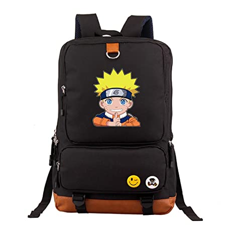 Amazon.com: yoyoshome Anime Naruto cosplay Bookbag Bolsa de ...