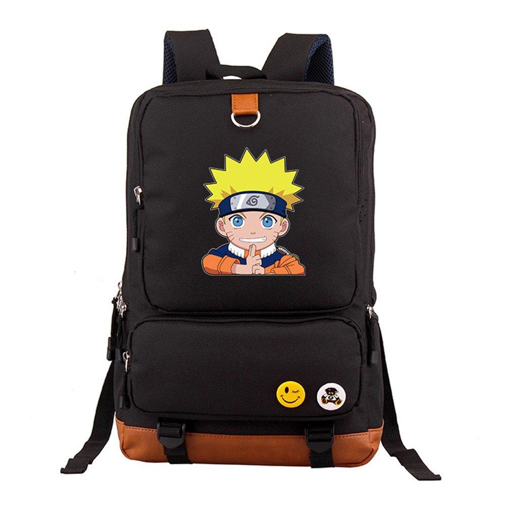 YOYOSHome Anime Naruto Cosplay Bookbag Shoulder Bag Backpack School Bag