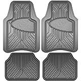 Custom Accessories Grey Armor All 78847 Rubber Interior Floor Mat, 4 Piece