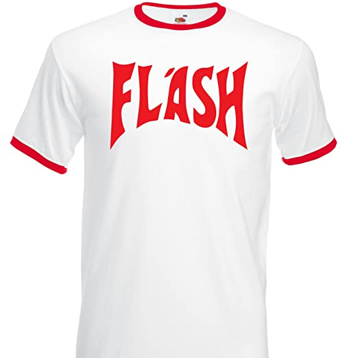 Flash Gordon Freddie Mercury Ringer T-shirt - S to 3XL