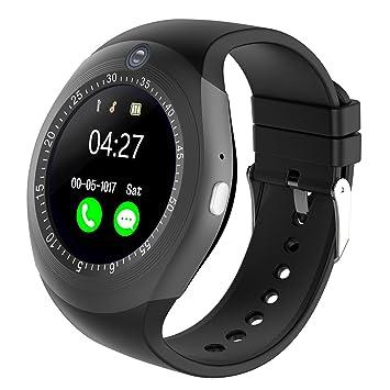 Kivors Bluetooth Smartwatch, Classic Ronda de IPS Pantalla Táctil ...