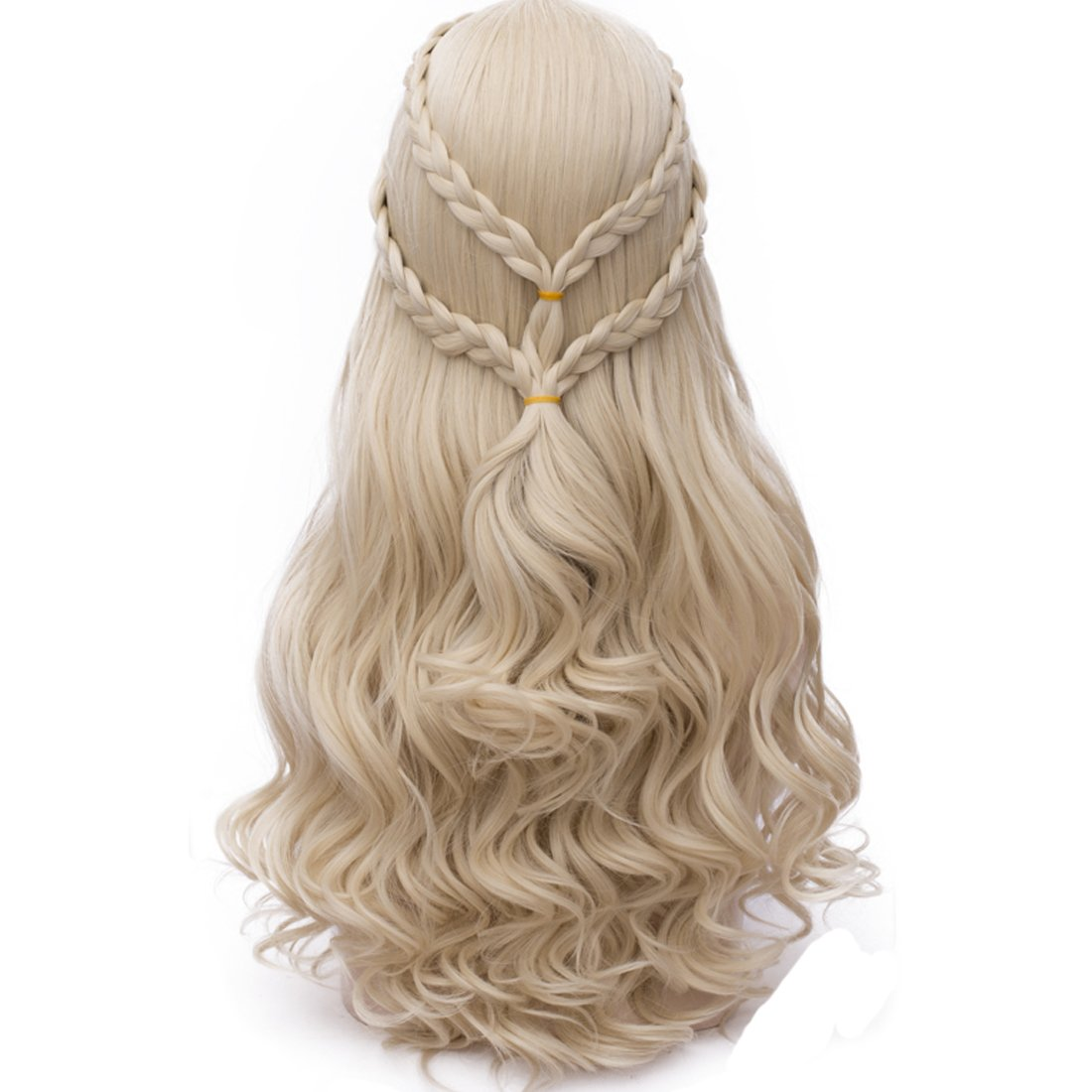 Probeauty 2017 New Long Braid Curly Women Cosplay Wigs +Wig Cap