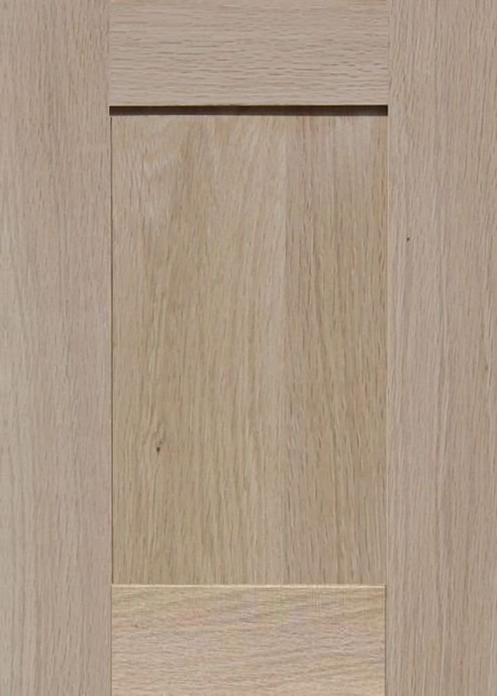 Square with Raised Panel by Kendor 14H x 10W Unfinished Oak Cabinet Door