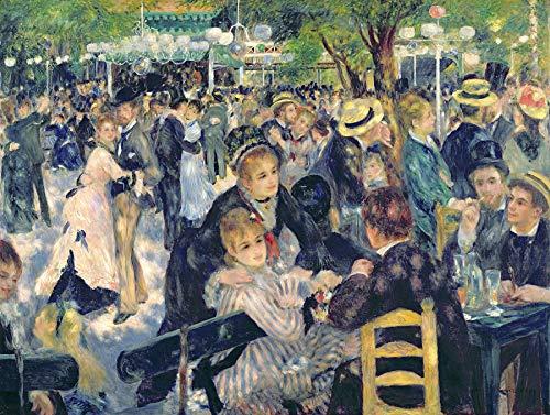Pierre-Auguste Renoir Ball at The Moulin de la Galette Musee D'Orsay 30