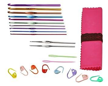 3 Stücke DIY Aluminium Stricknadeln Pins Häkelnadeln Nähen Stitch Knit Tools