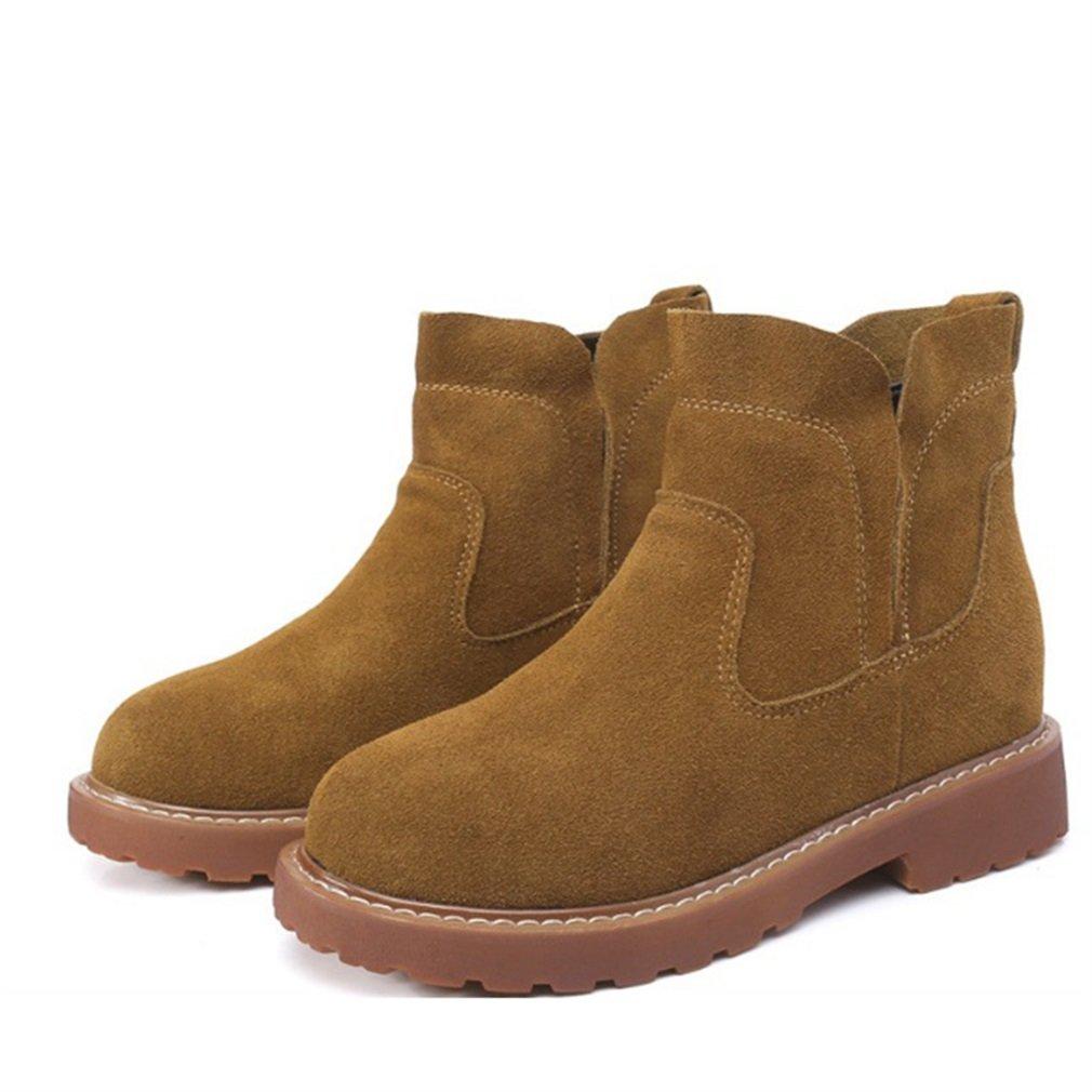 Xianshu Nubuck Flat Boots B001U2OJBI confortable bottes tendon 19023 bas matin bottes Kaki 07d9b3b - latesttechnology.space