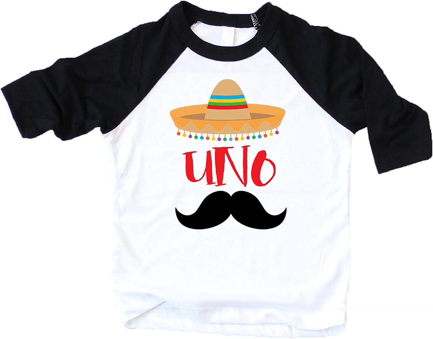 1st Birthday Uno Shirt Fiesta Themed First Birthday Sombrero Birthday Shirt Mustache Birthday Outfit for Baby Boy