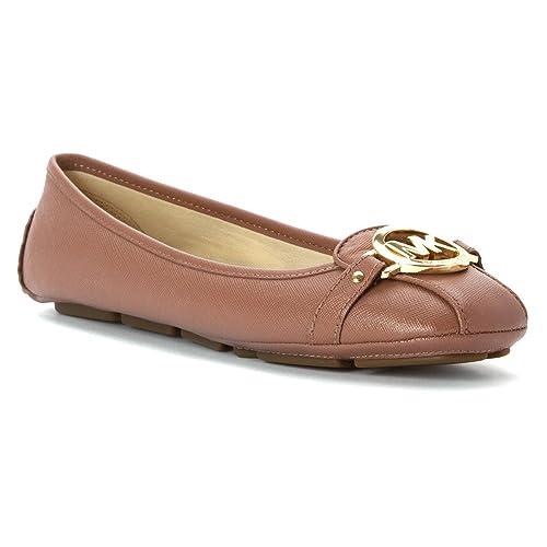 ad76a2a37 Michael Michael Kors Fulton Moc Women US 5.5 Pink Flats: Amazon.ca: Shoes &  Handbags
