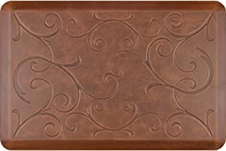 product image for WellnessMats Antique Collection Motif Light Brown Bella Mat, 36 X 24 Inch
