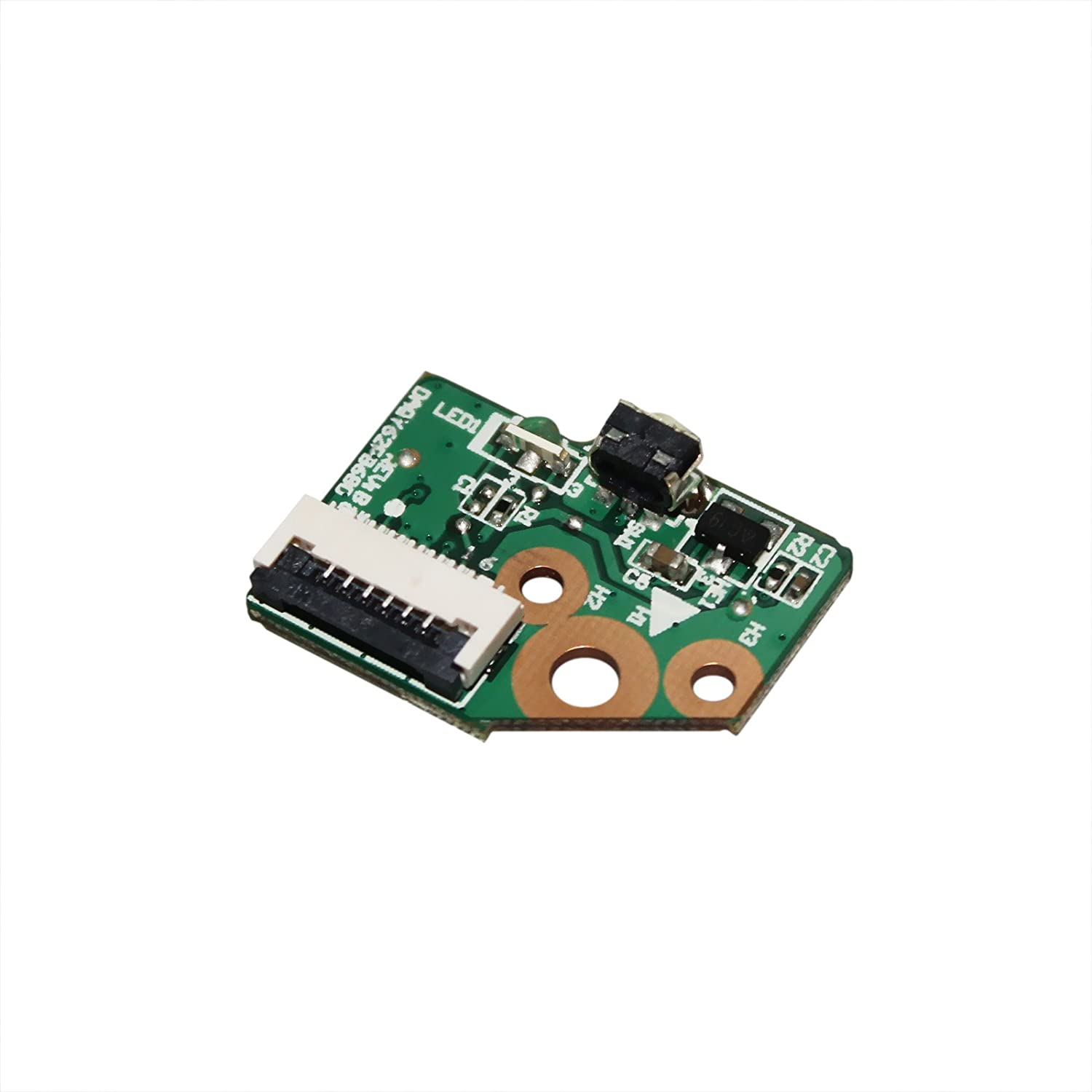 GinTai Power Button Board Replacement for HP X360 774599-001 15-u 15-u001xx 15-u002xx 15-u010dx 15-u011dx 15-u050ca 15-u000 15-u110dx 15-u111dx 15-u170ca 15-u100 15-u200 CTO