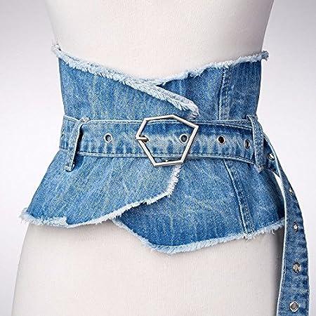 ERLINGSAN-YD Mujer cinturón Primavera Verano Moda Moda ...